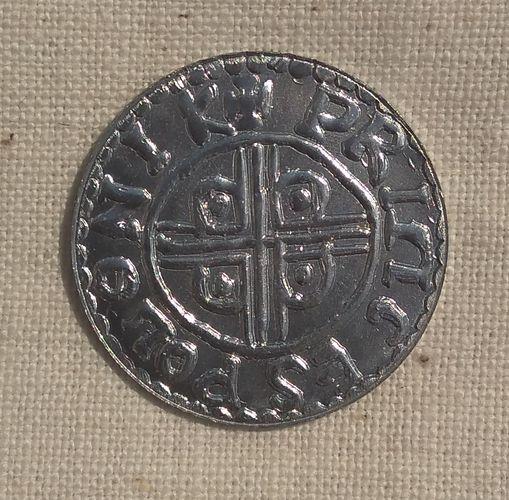 moneta, krzyż, princes polonie