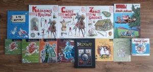 książki i komiksy dla dzieci i młodzieży