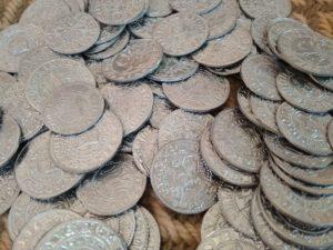 monety średniowieczne, repliki