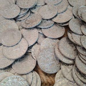 Monety i ozdoby