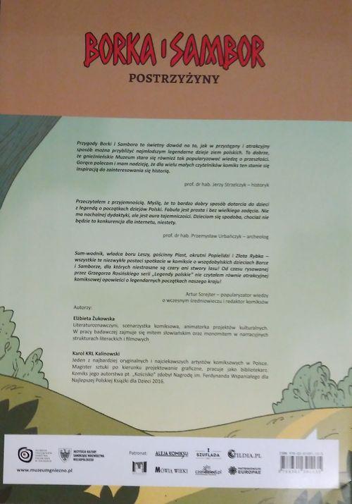 okładka Borka i Sambor Postrzyżyny