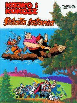 komiks Kajko i Kokosz Szkoła latania