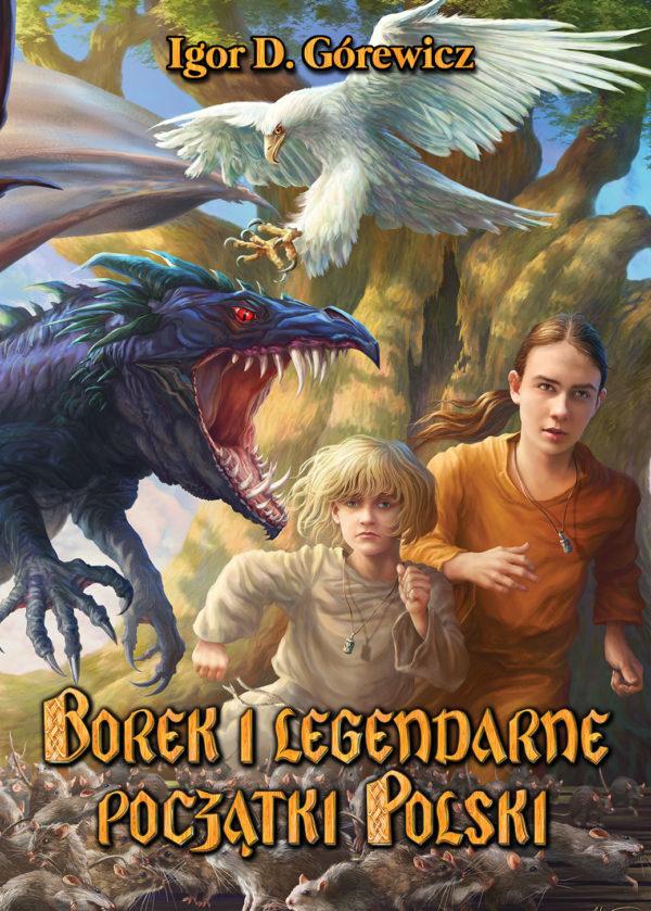 Borek i legendarne początki Polski - okładka książki