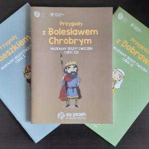 Przygody z Bolesławem Chrobrym – zeszyt ćwiczeń część III