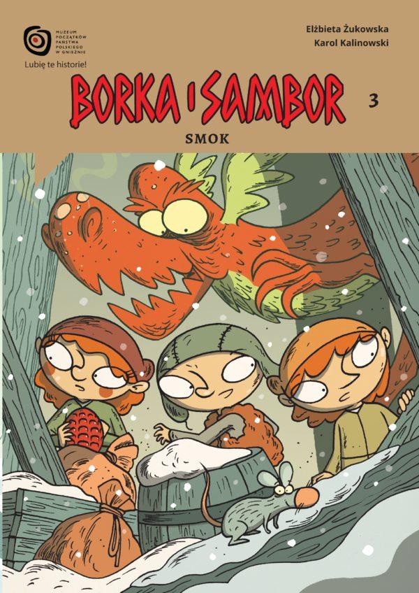 Komiks Borka i Sambor Smok okładka