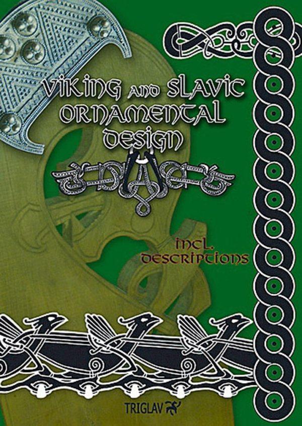 viking and slavic ornamental design vol I - okładka książki