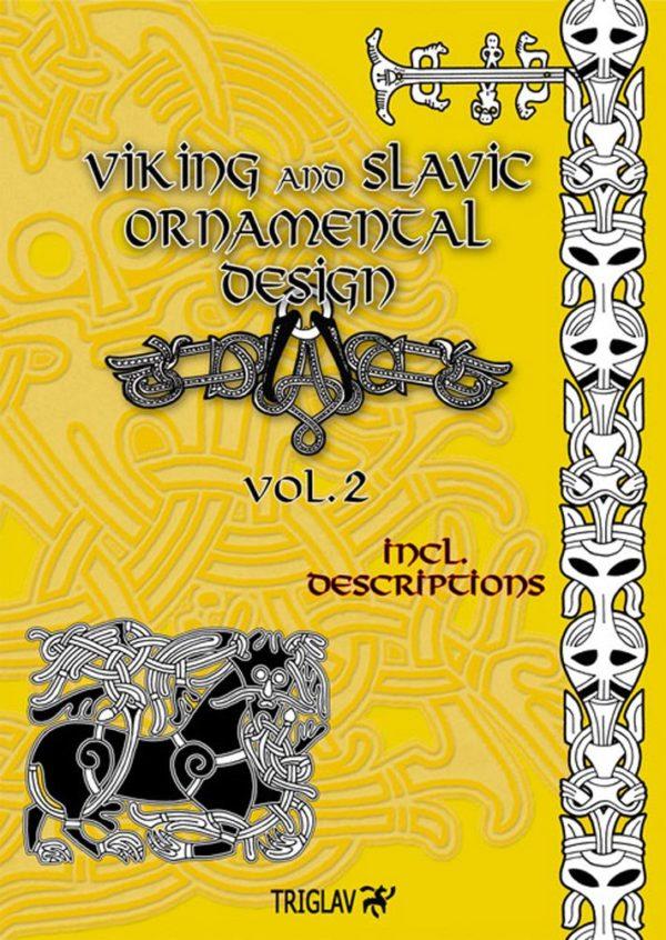 Viking and slavic ornamental design vol II - okładka książki