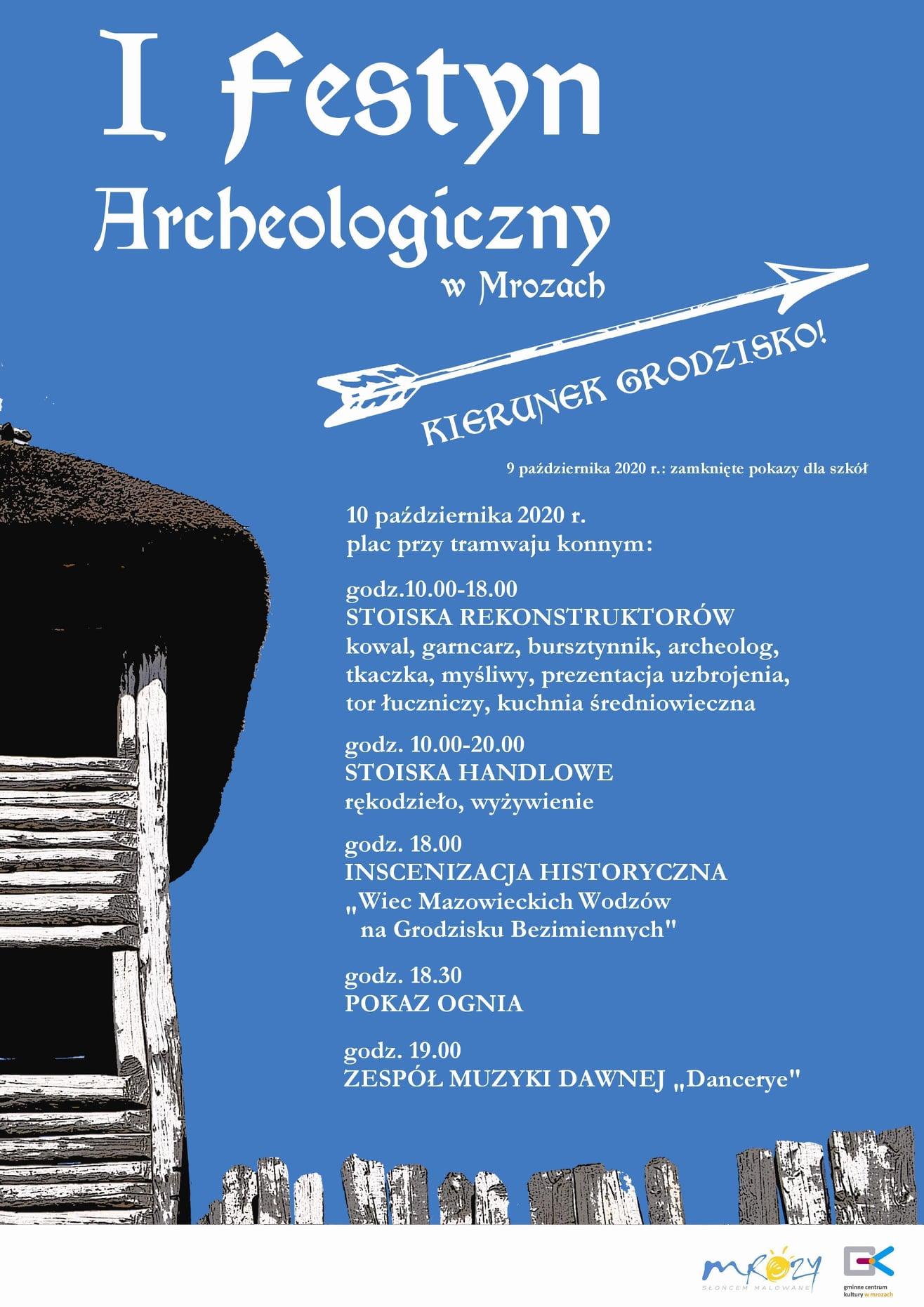 You are currently viewing I Festyn Archeologiczny w Mrozach