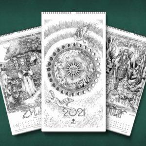"""Kalendarz 2021 """"Słowiański Świt"""""""