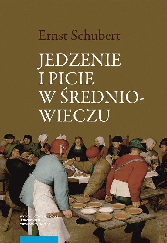 Jedzenie i picie w średniowieczu okładka książki